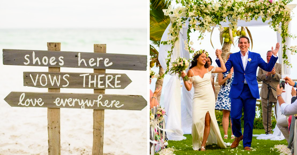 20 Tips For Planning A Beautiful Beach Wedding