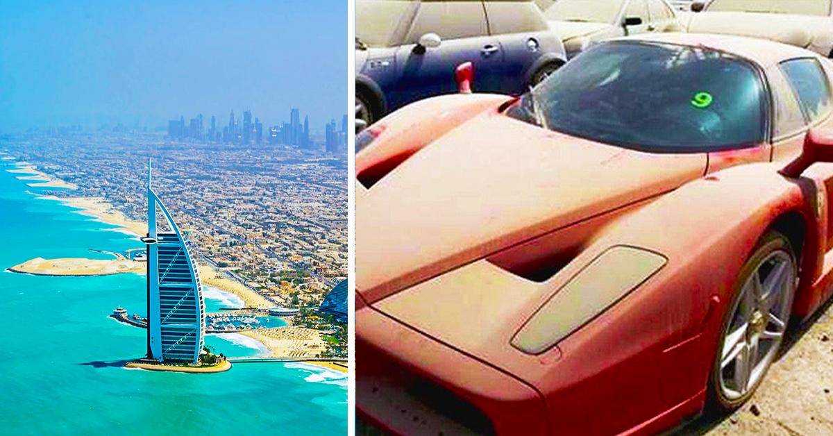 20 Photos Of Luxury Cars Rotting Away On Dubai S Roadsides