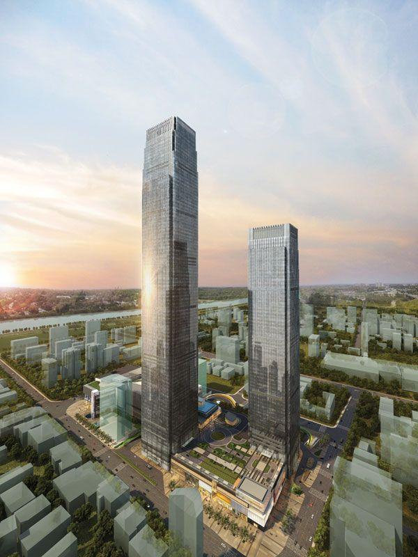 CHANGSHA IFS TOWER T1, CHANGSHA, CHINA
