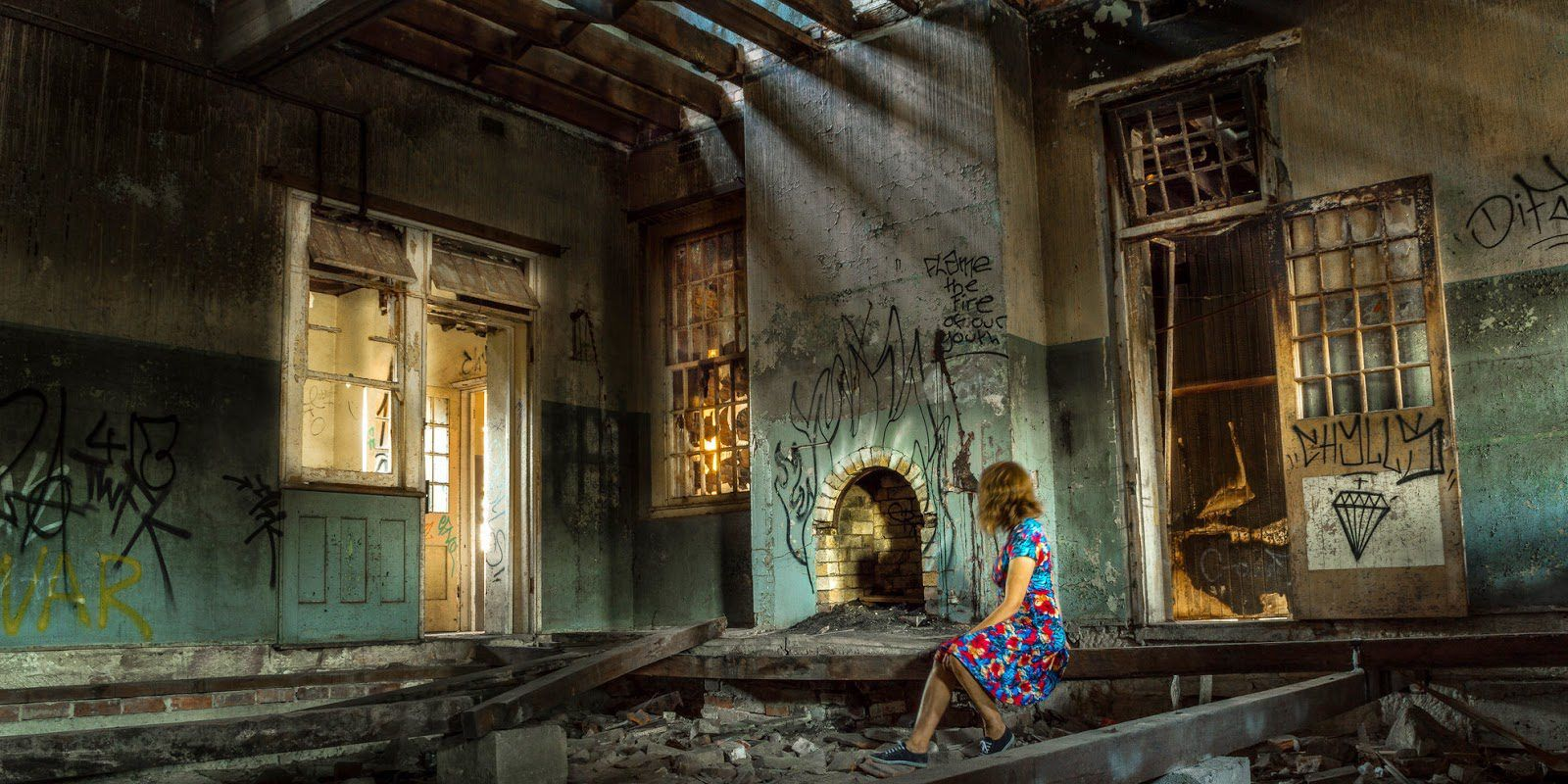 24 Pictures Of Vacant Mental Hospitals Around The World That No One Should Ever Visit