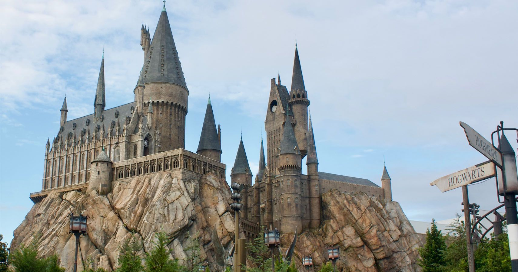 Catch A Glimpse Of The New Harry Potter Roller Coaster In Orlando