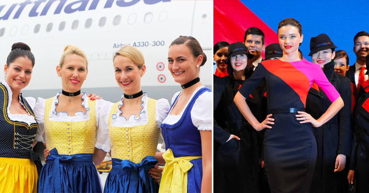 12 Flight Attendant Uniforms That Are A Joke And 13 We D Actually Wear