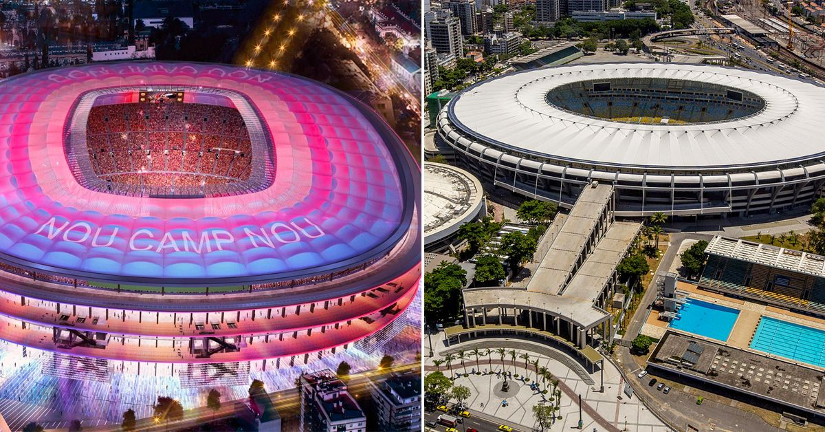 25 Of The Largest Stadiums In The World Worth All Our Money