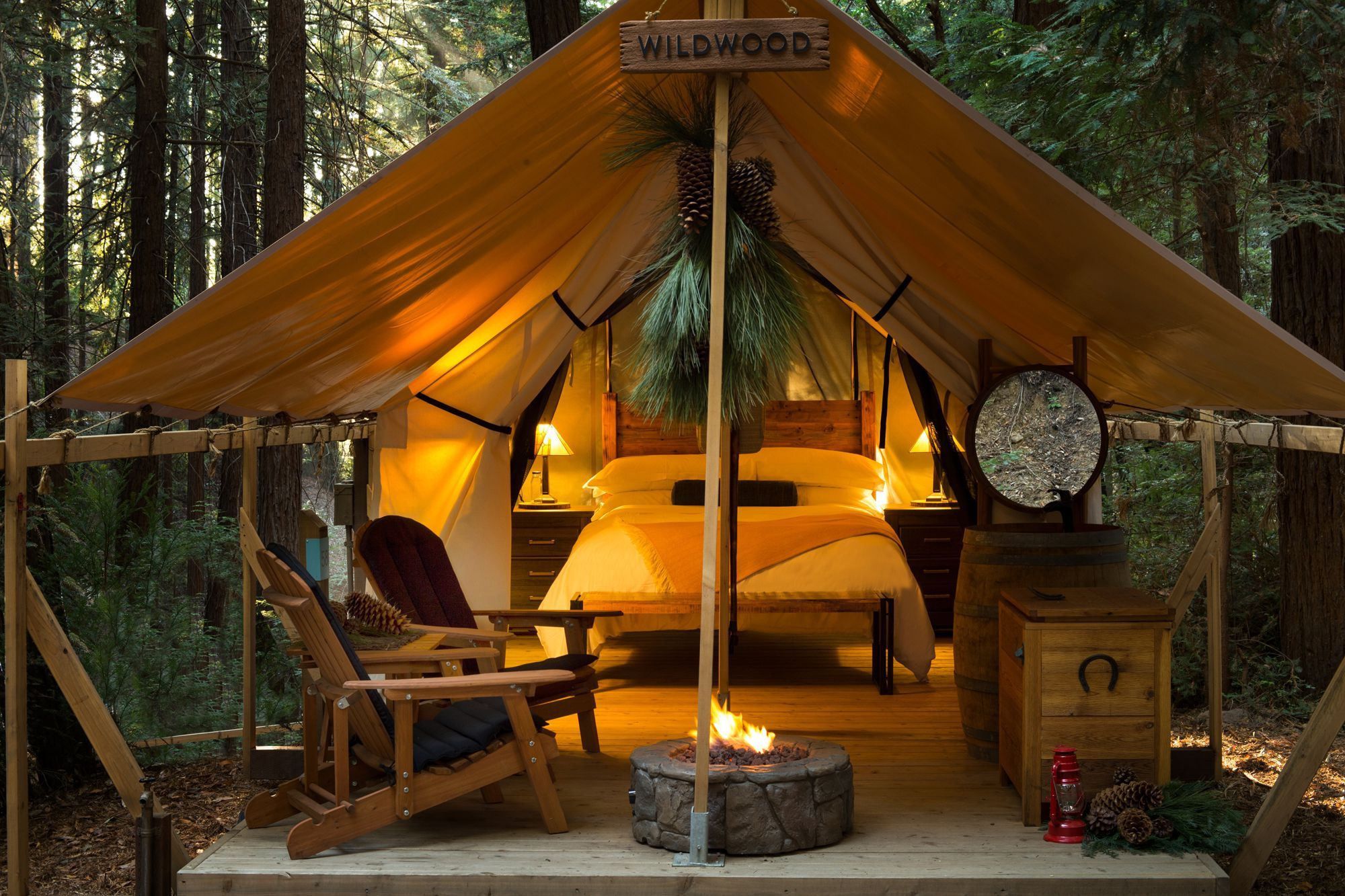 Glamping In California >> 10 Most Luxurious Glamping Spots In The Golden State Thetravel