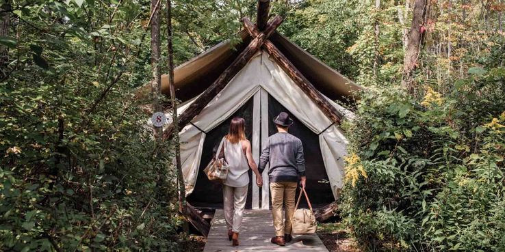 The 10 Most Exotic Glamping Locations in America | TheTravel