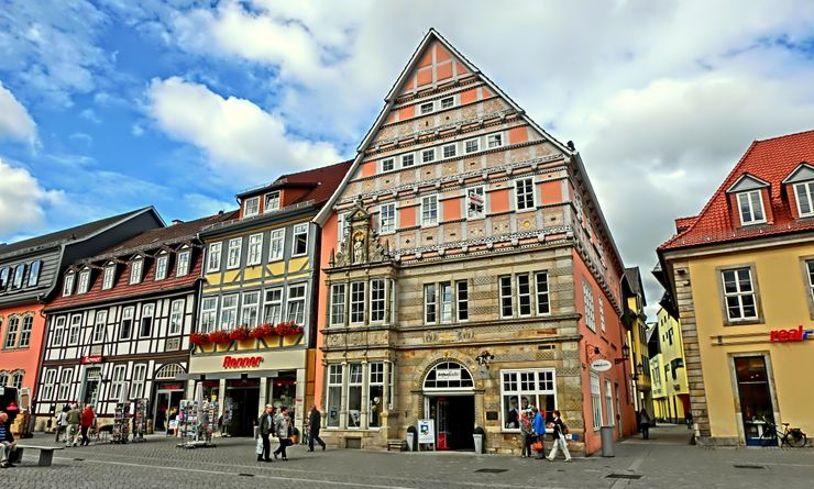 Hameln, Germany Is The Perfect Storybook Town And Also The Birthplace Of  The Pied Piper