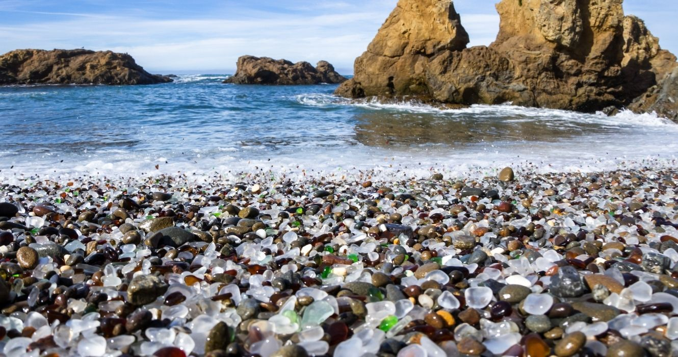 These Are The Best Places To Find Sea And Beach Glass, And It Might Even Be Worth Something