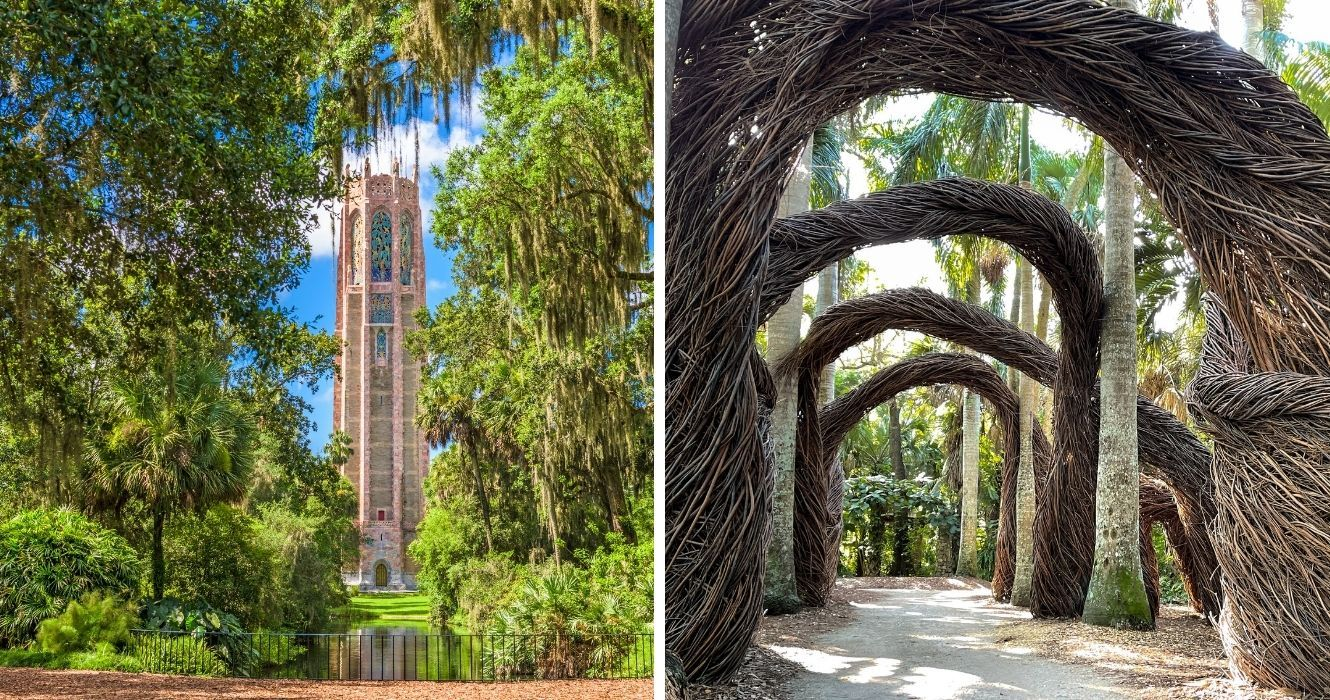 Florida Might Be Known For Its Beaches, But These Botanical Gardens Are Just As Serene