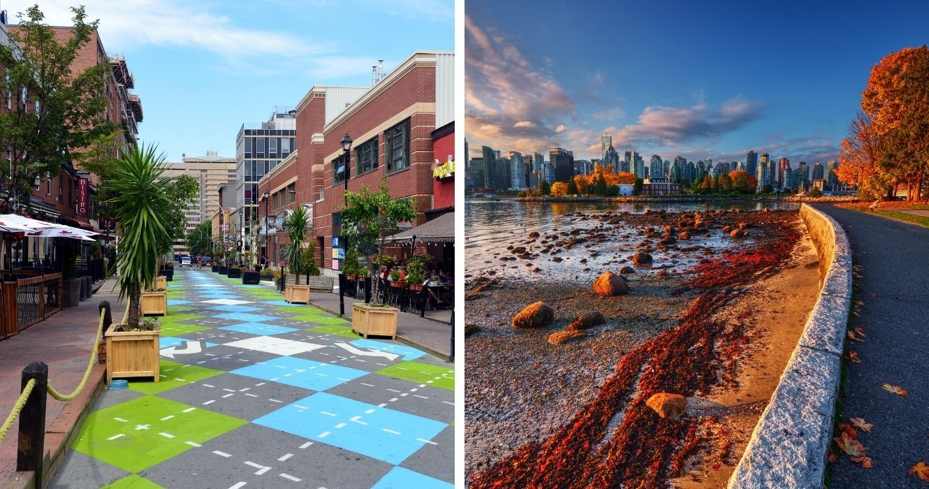 Don't Bother With The Bus, These Are The Most Walkable Cities In Canada
