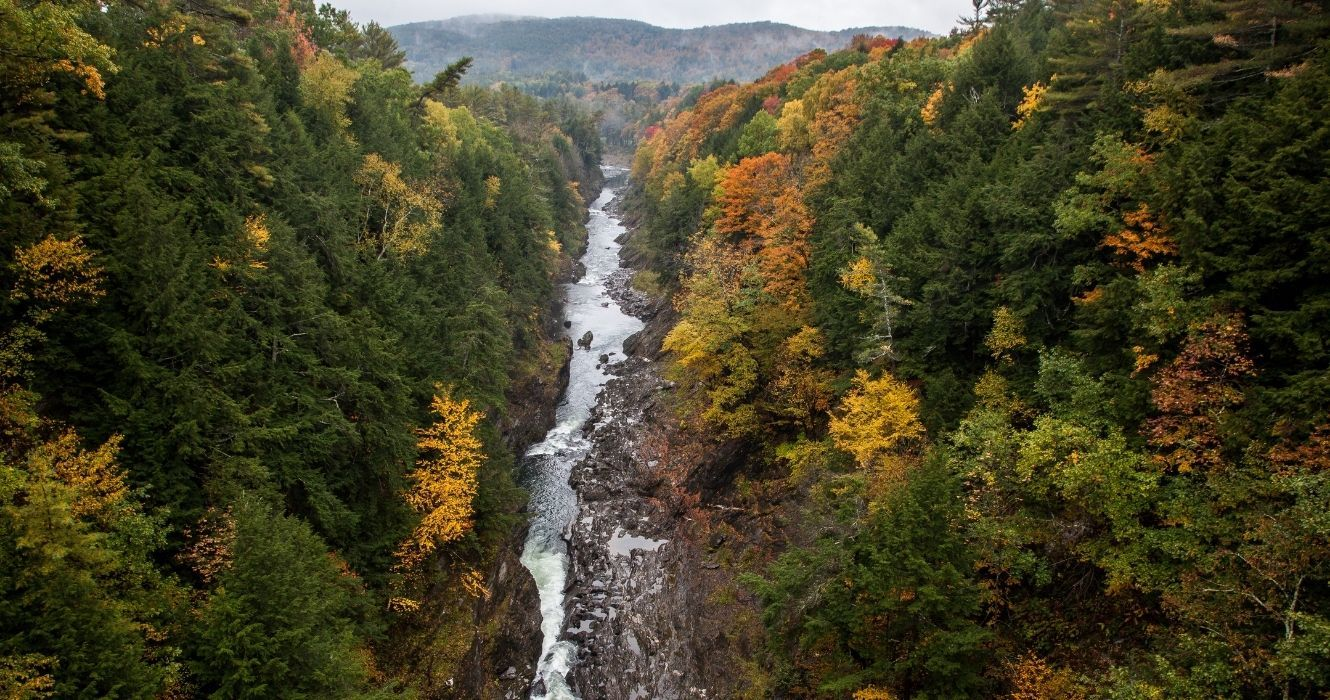 Quechee Gorge Is A New England Natural Wonder, But It's Not For Those With A Fear Of Heights